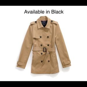 NWT! Tommy Hilfiger Women's Short Trench Coat